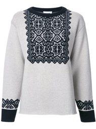 жаккардовый свитер  Chloé