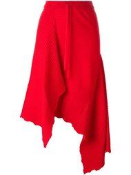 асимметричная драпированная юбка Marques'almeida