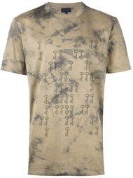 футболка с принтом ключей Lanvin