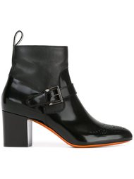 ботинки с ремешком  Santoni