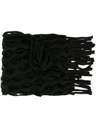сетчатый шарф с бахромой Marques'almeida
