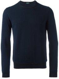 пуловер с круглым вырезом Zanone