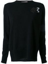 свитер с аппликацией  Christopher Kane
