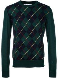 джемпер с ромбовидным узором Comme Des Garçons Shirt