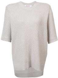 shortsleeved knit blouse Organic By John Patrick