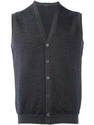 пуловер с V-образным вырезом Zanone