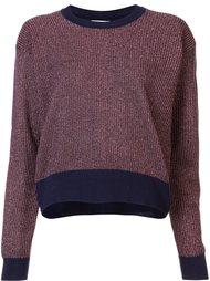 metallic knit 'Palm' sweater Tanya Taylor