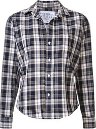 checked cropped shirt Frank & Eileen