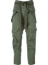 укороченные брюки в стиле милитари Faith Connexion