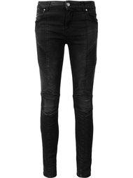 джинсы 'Moto' Pierre Balmain