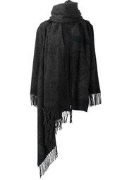 пончо с бахромой Vivienne Westwood