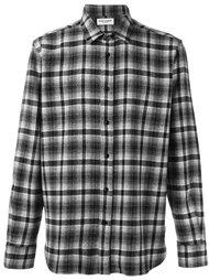 классическая рубашка в стиле вестерн в клетку Saint Laurent