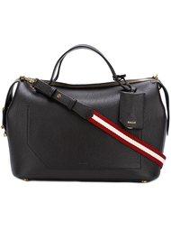 сумка среднего размера с полосатым ремнем Bally