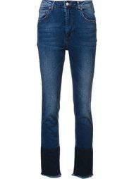 укороченные брюки с необработанными краями Anine Bing