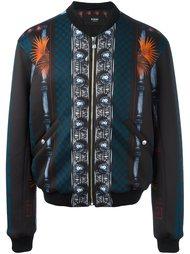 куртка-бомбер с принтом 'Macro Plinth'  Versus
