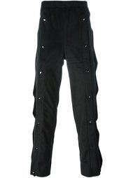 брюки с кнопочной отделкой Christopher Shannon