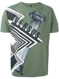 футболка с принтом 'architecture ' Versus