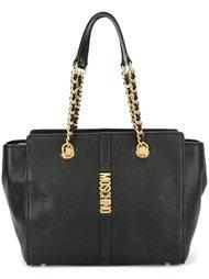сумка с цепочными ремешками  Moschino