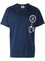 футболка с абстрактным принтом Christopher Shannon