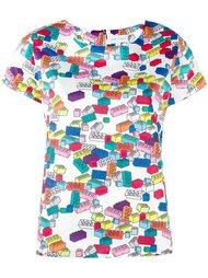 футболка с принтом лего Mira Mikati