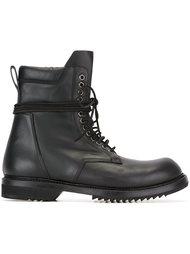 ботинки в стиле милитари  Rick Owens