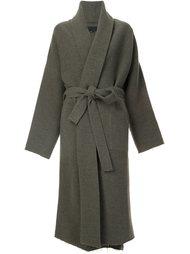 belted long coat Nili Lotan