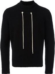 contrast drawstring sweatshirt Craig Green
