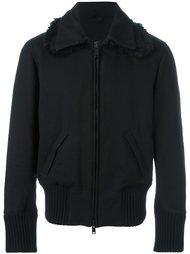 куртка в рубчик  Ann Demeulemeester Blanche