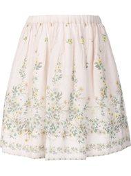 плиссированная юбка с цветочным принтом Sea
