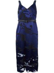 платье миди с камуфляжным эффектом Diesel