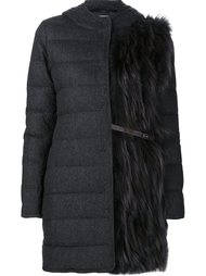 padded hooded coat Fabiana Filippi