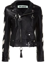'Carryover' biker jacket Off-White