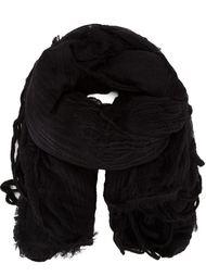 фактурный шарф с бахромой Forme D'expression