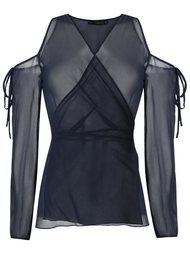 panelled blouse Giuliana Romanno