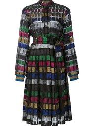 полупрозрачное платье в полоску Dodo Bar Or