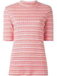 'Felicia' knit T-shirt Wood Wood