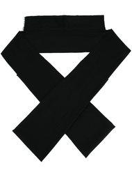 шарф геометрической формы  Ann Demeulemeester