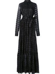 полупрозрачное платье-рубашка  Dodo Bar Or