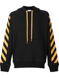 signature stripe hoodie Moncler X Off-White