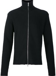 ribbed funnel neck cardigan Officine Generale