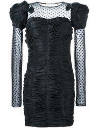 жатое платье с панелью из тюля Faith Connexion