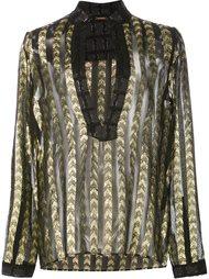 полупрозрачная блузка с глубоким вырезом Dodo Bar Or