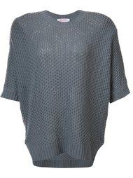 round neck shortsleeve blouse Organic By John Patrick