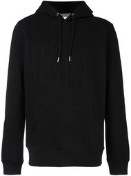 embroidered logo hoodie Soulland