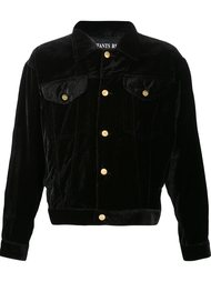 velvet denim-style jacket Enfants Riches Deprimes