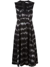 платье без рукавов с V-образным вырезом Jil Sander