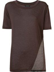 футболка 'Atomic' с сетчатой вставкой Koral
