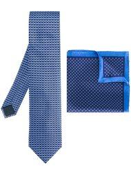 галстук и карманный платок Lanvin