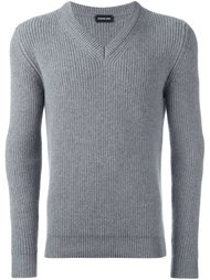 классический свитер с V-образным вырезом Exemplaire