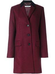 пальто с контрастным воротником Givenchy